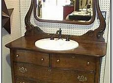 Challenges of Using an Antique Bathroom Vanity   Patch