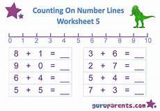 addition worksheets using number line 8951 number line worksheets guruparents