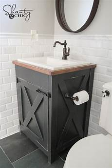 diy bathroom vanity ideas diy farmhouse bathroom vanity shanty 2 chic