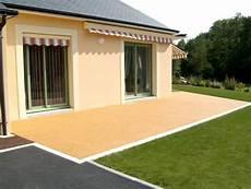Terrasse Exterieur En Resine Veranda Styledevie Fr