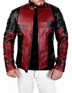 deadpool coats for deadpool jacket biker leather jacket
