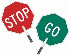 Handheld Stop Signs Stop Go Sign With Foam Handle Sku K