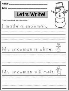free winter handwriting worksheets 20021 winter handwriting practice sentences handwriting practice sentences handwriting practice