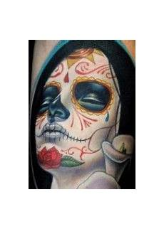 mexican mask tattoos that inspire me