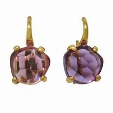 re pomellato pomellato lola amethyst gold earrings at 1stdibs