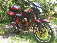 Cb150r Modif Touring by Moto Min Cb150r Modifikasi Touring
