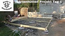 Gartenh 252 Tten Projekt Teil 2 Anlieferung