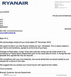 ryanair rechnung ryanair zahlt steuern und geb 252 hren bei stornierung nicht
