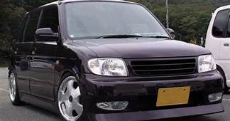 Purple Daihatsu Cuore L701 With Bodykit  Cuores