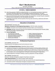 sle resume for an entry level civil engineer monster com
