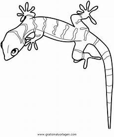 Malvorlagen Gratis Gecko Gecko 1 Gratis Malvorlage In Schlangen Tiere Ausmalen