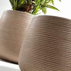 cache pot design lot de 2 cache pots design marron drawer