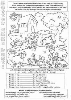 easter eggs everywere worksheet free esl printable worksheets made by teachers
