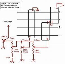 pickup pj wiring