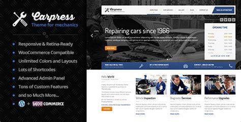carpress v1 11 7 wordpress theme for mechanic workshops