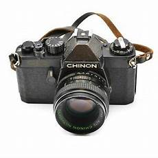 chinon cm 3 slr 35mm with auto chinon lens 55mm f 1