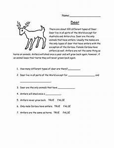 reading comprehension worksheet for middle school free printable worksheets and activities for