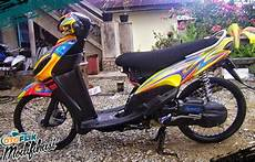 Modifikasi Mio Sporty Standar by 250 Modifikasi Motor Matic Terkeren 2019 Honda Yamaha