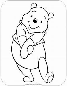 adorable winnie the pooh coloring page disney coloring