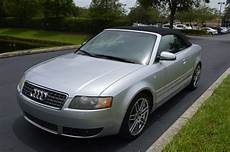 2005 audi s4 quattro 4 2 v8 cabriolet low miles carfax florida car bid for sale in