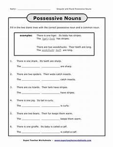 name singular and plural possessive nouns possessive nounsfill i