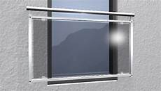 glasscheiben online bestellen franz 214 sischer balkon edelstahl v2a oder v4a quot glas grau