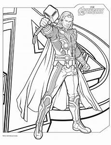 coloring pages here thor mit bildern