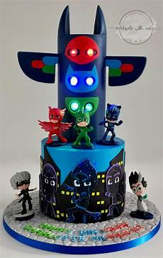 celebrate with cake pj masks with hq cake