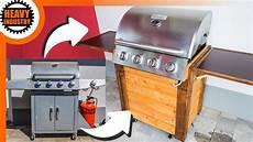 barbecue gas grill aufarbeiten und selber bauen teil 1