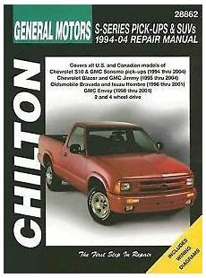 manual repair free 2002 chevrolet trailblazer auto manual 1994 2004 gmc chevy s10 sonoma blazer jimmy repair manual 2003 2002 2001 6008 1563926008 ebay