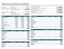 7 Simple Monthly Budget Template  Every Last