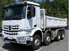 mercedes poids lourds camion poids lourd benne basculante de chantier et de tp mercedes arocs 32 43 occasion camion