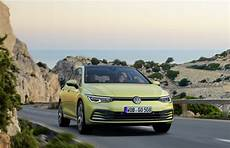 new 8 volkswagen golf offers five hybrid versions from