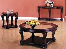 Wood With Glass Top Coffee Table wood end tables with glass top cherry blossom depression