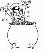 Pot Of Gold Coloring Page & Book For Kids