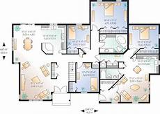 house plans for multi generational families duplex great