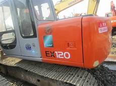 Ex120 2 12 Ton Tangan Kedua Hitachi Excavator 81 Hp Daya