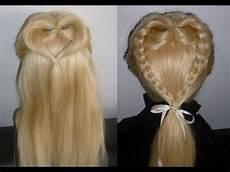 frisuren f 252 r mittel lange haare herzchen zopf flechtfrisur