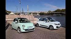 Essai Comparatif La Nouvelle Renault Twingo Vs La Fiat