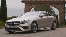 Mercedes E 300 Coupe Aragonite Silver