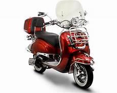 retro roller gebraucht znen easycruiser dunkelrot 50 ccm retro roller scooter r at038