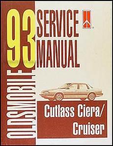 auto repair manual free download 1993 oldsmobile cutlass supreme seat position control 1993 oldsmobile cutlass ciera cutlass cruiser repair shop manual original