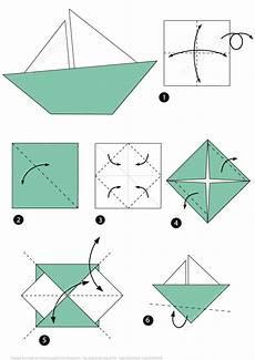 schiffchen falten anleitung origami boat free printable