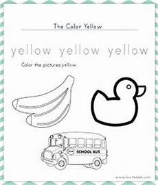 color yellow worksheets for preschool 12892 preschool on preschool worksheets worksheets and number