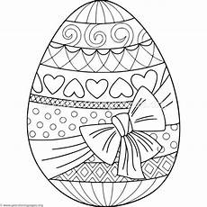 Malvorlagen Ostereier Ideen Gift Wrapped Easter Egg Coloring Pages Malvorlagen