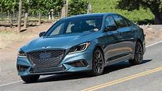 the 2018 genesis g80 sport is a sport sedan in need of some air quotes the