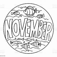 color exle november coloring pages for stock