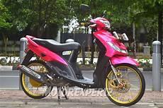 Modifikasi Warna Motor Mio by Modifikasi Mio Sporty Warna Pink Modifikasi Motor