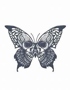 Skull Butterfly Tattooednow Ltd