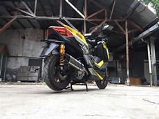 Modifikasi Xmax 250 by Modifikasi Yamaha Xmax Iconic Bike Ohlins Indonesia